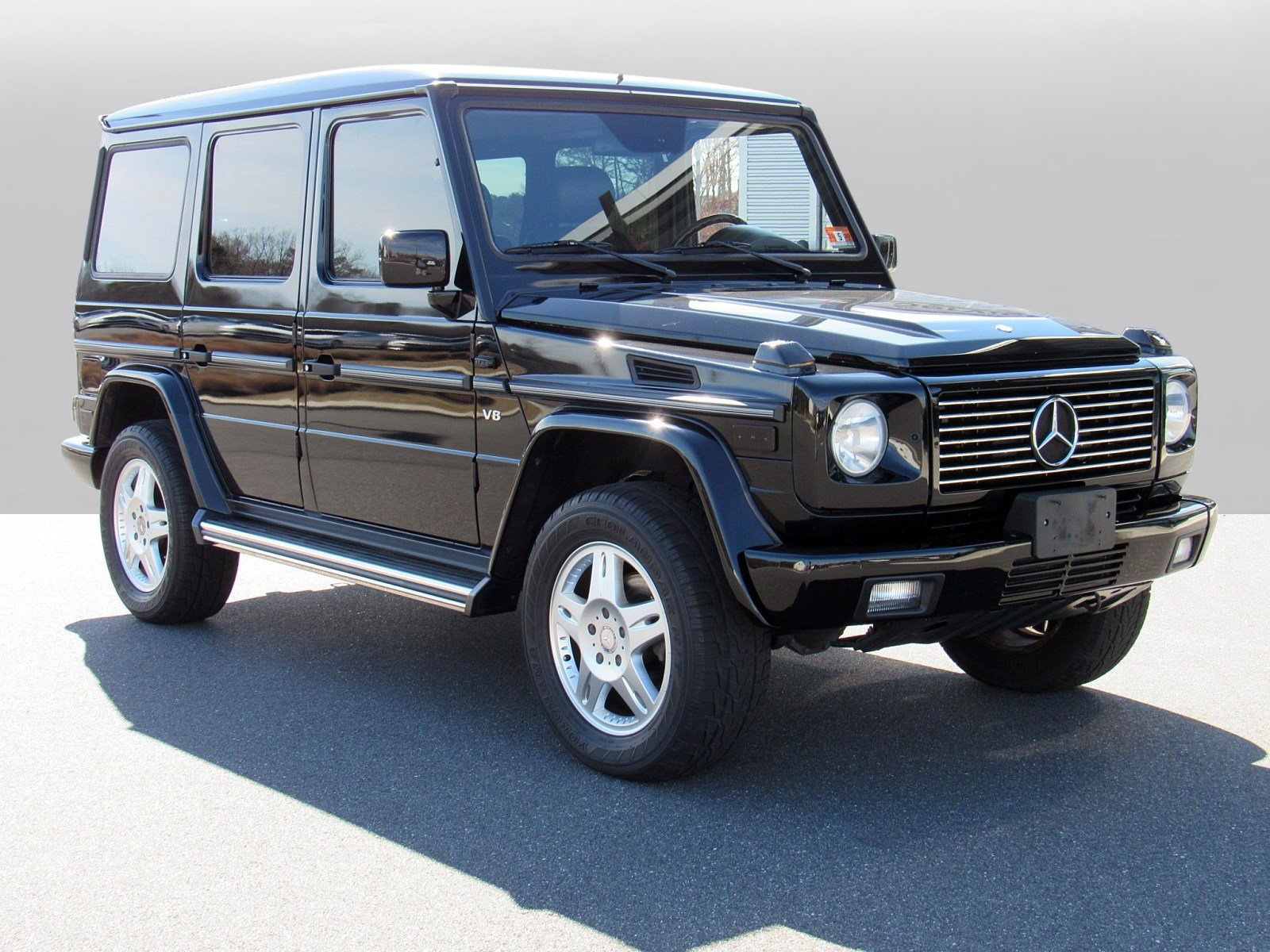 Pre Owned 2002 Mercedes Benz G Cl 500