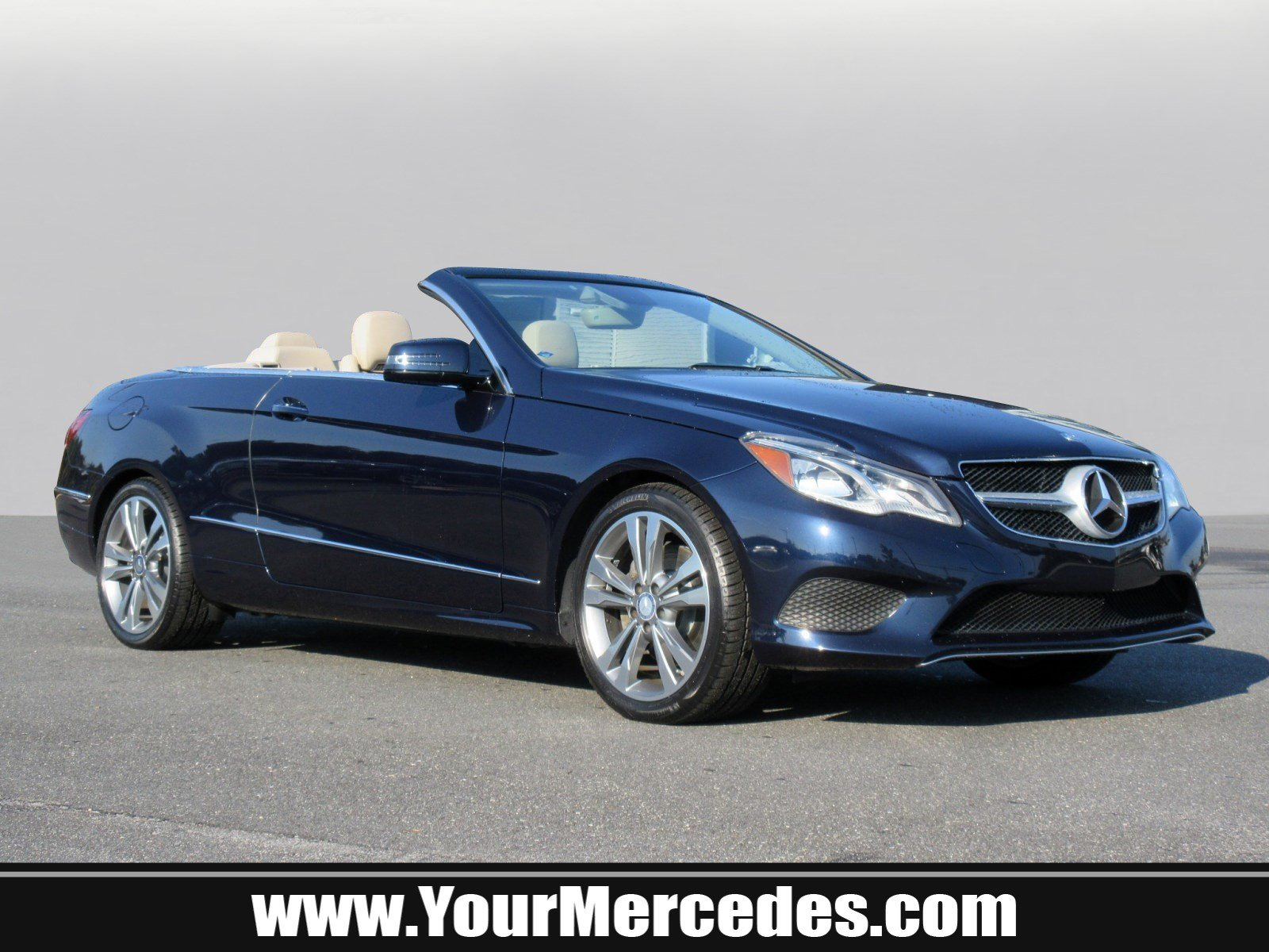 Certified Pre Owned 2014 Mercedes Benz E Class E 350 CABRIOLET in