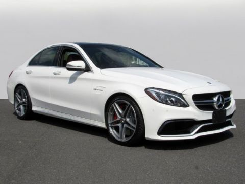 Pre-Owned 2016 Mercedes-Benz C-Class AMG® C 63 S Sedan
